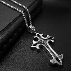 Andante - 十字吊坠项链