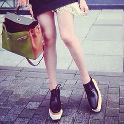 Siya - 厚底系带鞋