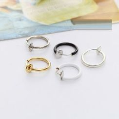 Persinette - Clip On Single Hoop Earring