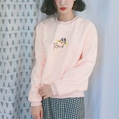 Jolly Club - Embroidered Pullover