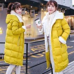 lilygirl - Fleece-Lined Padded Coat