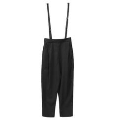 Sentubila - Cropped Suspender Pants