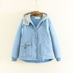 Mushi - Hooded Padded Jacket