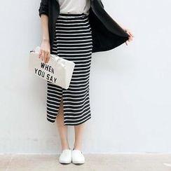 CatWorld - Striped Long Skirt