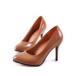 BAYO - Patent Pointy Heel Pumps