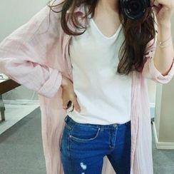 chuu - Sheer Long Shirt