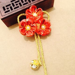 HelloDear - Flower Dangling Hair Clip