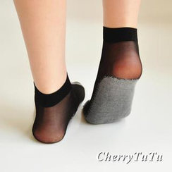 CherryTuTu - Sheer Ankle Socks