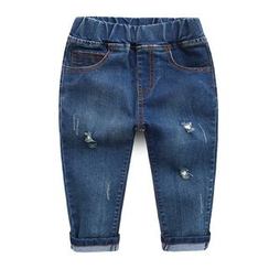 lalalove - Kids Distressed Jeans
