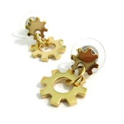 Kamsmak - Gear Earrings