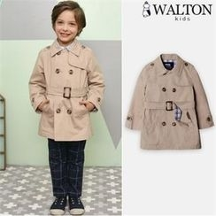 WALTON kids - Boys Double-Breasted Trench Coat