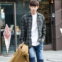 STYLEMAN - Long-Sleeve Check Shirt