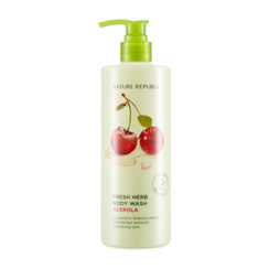 Nature Republic - Fresh Herb Body Wash Acerola 400ml