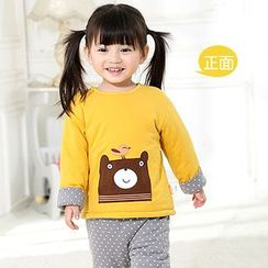 Tinsino - Baby Set: Printed Sweatshirt + Pants