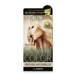 The Saem - Silk Hair Glam Color Cream (#10L Gold Milk Blonde)