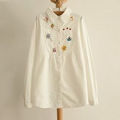 Angel Love - Embroidered Shirt