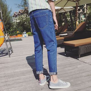 Arthur Look - Cropped Slim Fit Jeans