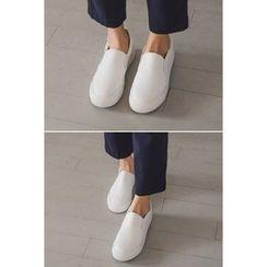 migunstyle - Plain Slip-Ons