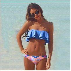 Fundae - Ruffle Bandeau Bikini