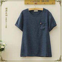 Storyland - Short-Sleeve Cuffed T-Shirt