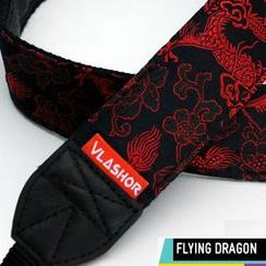 Vlashor - 黑底红龙相机带
