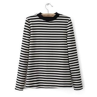 JVL - Long-Sleeve Striped T-Shirt