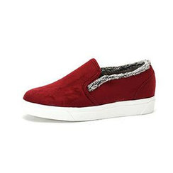 MODELSIS - Faux-Suede Sneakers