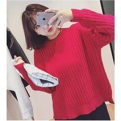 MATO - Plain Ribbed Sweater