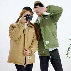Seoul Homme - Couple Printed Padded Jacket