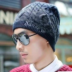 GreatMay - Cable Knit Beanie