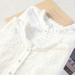 兰芝 - 皱摺边衬衫