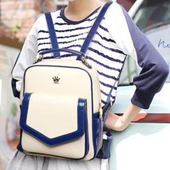 miim - Contrast Trim Backpack