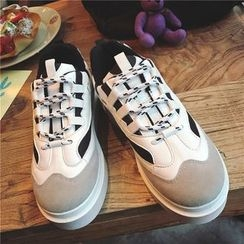 Hipsole - Lace-Up Platform Sneakers