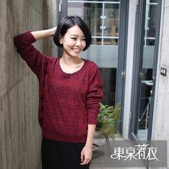 Tokyo Fashion - Lace-Up Sweater