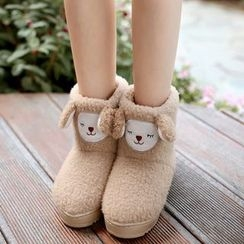 JY Shoes - Sheep Home Boots