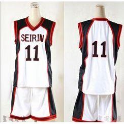 Comic Closet - Kuroko's Basketball Kiyoshi Teppei / Hyuuga Junpei Cosplay Costume