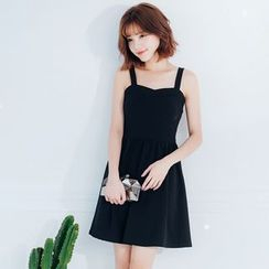 Tokyo Fashion - Sleeveless Shirred Dress