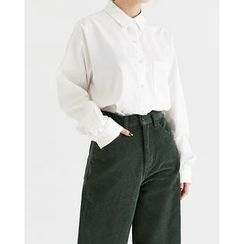Someday, if - Pocket-Front Cotton Shirt