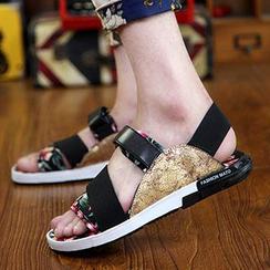 Muyu - 配色涼鞋