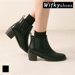 Wifky - Faux-Fur Lined Ankle Boots