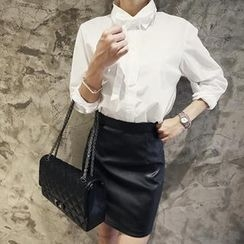NANING9 - Bow-Tie Blouse