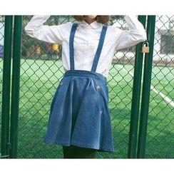Wimi girls - Denim Jumper Skirt