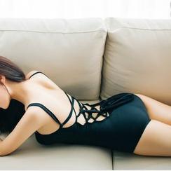 Roseate - Lattice Swimsuit