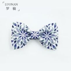 Luonan - 印花蝴蝶领结