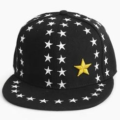 MURATI - Embroidered Star-Print Cap