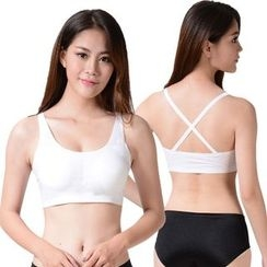 Aquamoon - Cross Strap Back Bra Top