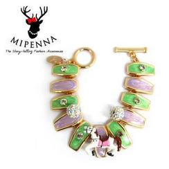 MIPENNA - White Horse Bracelet