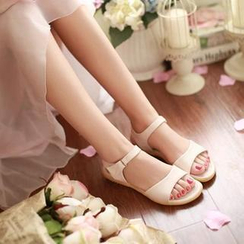 Pastel Pairs - Ankle Strap Sandals