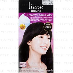 Kao - Liese Blaune Creamy Foam Color (Black Brown)