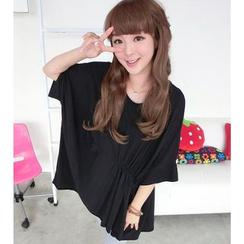 59 Seconds - Batwing-Sleeve T-Shirt Dress